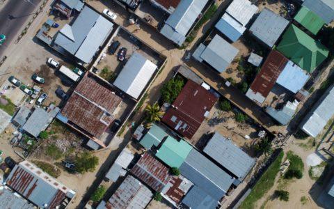Brazzaville, levé urbain