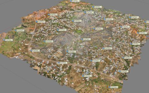 Ngaoundéré, répartition des points de contrôle