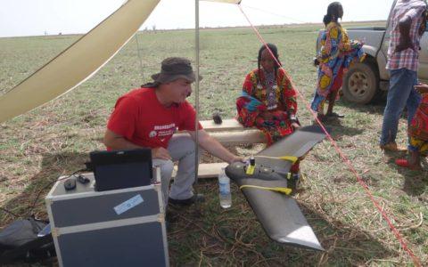 Extrême nord Cameroun, nomades près du Tchad