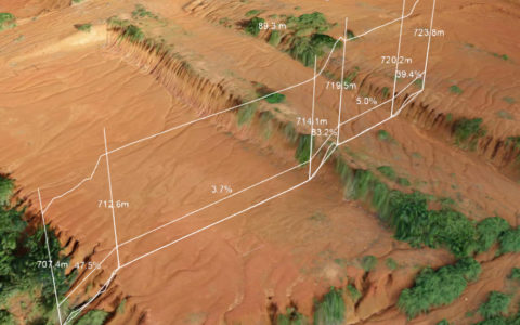 Modèle 3D : Pentes et altitudes